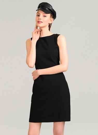 Sırt Detaylı Elbise-Agenda